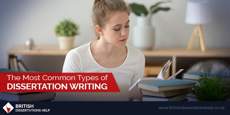 Types of Dissertation Writing